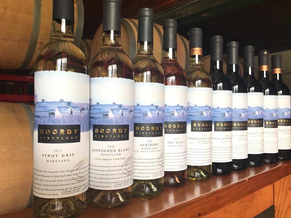boordy wines