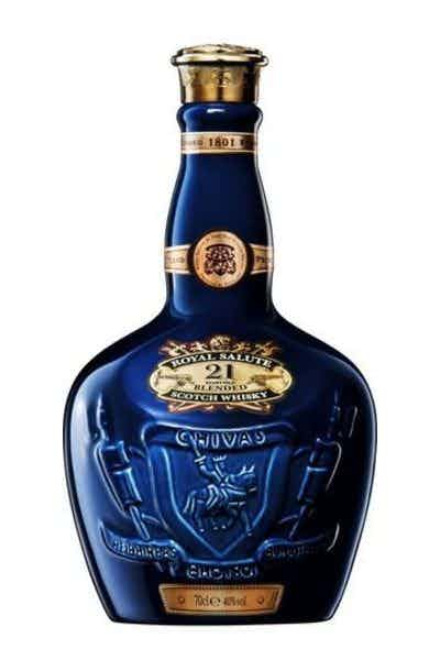 Chivas Regal Royal Salute 21 Year Scotch